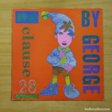 Discos de vinilo: BOY GEORGE - NO CLAUSE 28 - MAXI. Lote 152116364