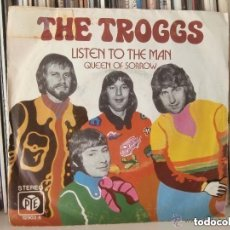 Discos de vinilo: TROGGS - LISTEN TO THE MAN (SG) 1973. Lote 152129066
