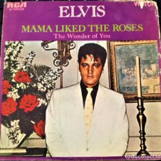 Discos de vinilo: ELVIS PRESLEY - THE WONDER OF YOU - SINGLE 1970 ESPAÑA -. Lote 152143462