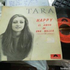 Discos de vinilo: TARA SINGLE HAPPY 1970. Lote 152145572