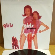 Discos de vinilo: POWERCUT / FEATURING NUBIAN PRINZ / GIRLS / MAXI-SG - ETERNAL - 1991 / MBC. ***/***. Lote 152146966