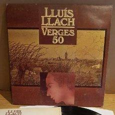 Discos de vinilo: LLUÍS LLACH / VERGES 50 / LP-GATEFOLD - ARIOLA - 1980 / MBC. ***/***. Lote 152147790