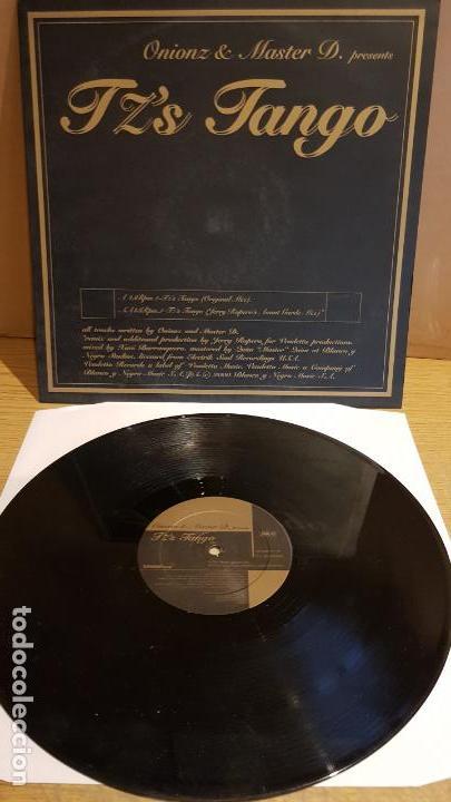 ONIONZ & MASTER D / TZ'S TANGO / MAXI-SG - VENDETTA RECORDS - 2000 / MBC. ***/*** (Música - Discos de Vinilo - Maxi Singles - Techno, Trance y House)