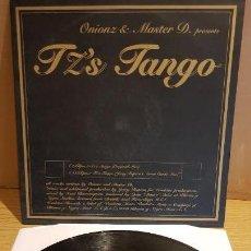 Discos de vinilo: ONIONZ & MASTER D / TZ'S TANGO / MAXI-SG - VENDETTA RECORDS - 2000 / MBC. ***/***. Lote 152148670