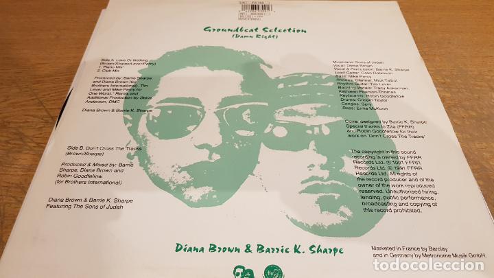 Discos de vinilo: DIANA BROWN & BARRIE K. SHARPE / LOVE OR NOTHING / MAXI-SG - FFRR RECORDS / MBC. ***/*** - Foto 2 - 152149570