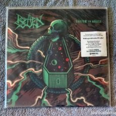 Discos de vinilo: ROTTEN SOUND - SUFFER TO ABUSE 12'' MINI LP - GRINDCORE. Lote 152156374