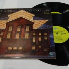 Discos de vinilo: THE GREATEST JAZZ CONCERT EVER - DOBLE LP-1973. Lote 152157106