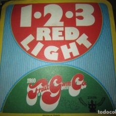 Discos de vinilo: 1910 FRUIT GUM CO. - 1-2-3- SINGLE - ORIGINAL ESPAÑOL - BUDDAH RECORDS 1968 -. Lote 152157338
