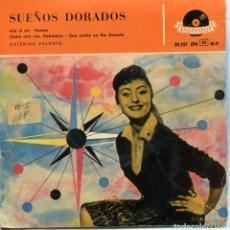 Discos de vinilo: CATERINA VALENTE / ISLA AL SOL + 3 (EP 1958). Lote 152172374