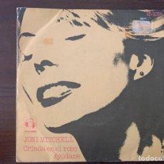 Discos de vinilo: JONI MITCHELL – CRIADA EN EL ROBO / AYÚDAME SELLO: ASYLUM RECORDS – 45-1058, HISPAVOX – 45-1058 F. Lote 152175578