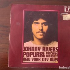 Discos de vinilo: JOHNNY RIVERS ‎– MEDLEY: SEARCHIN' / SO FINE SELLO: UNITED ARTISTS RECORDS ‎– HS 978 FORMATO: VINYL,. Lote 152175814