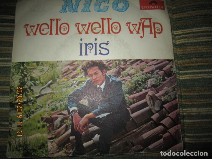 Discos de vinilo: NICO - WELLO WELLO WAP SINGLE ORIGINAL ESPAÑOL - POLYDOR RECORDS 1969 - MONOAURAL - DIFICIL Y RARO - Foto 2 - 152176214