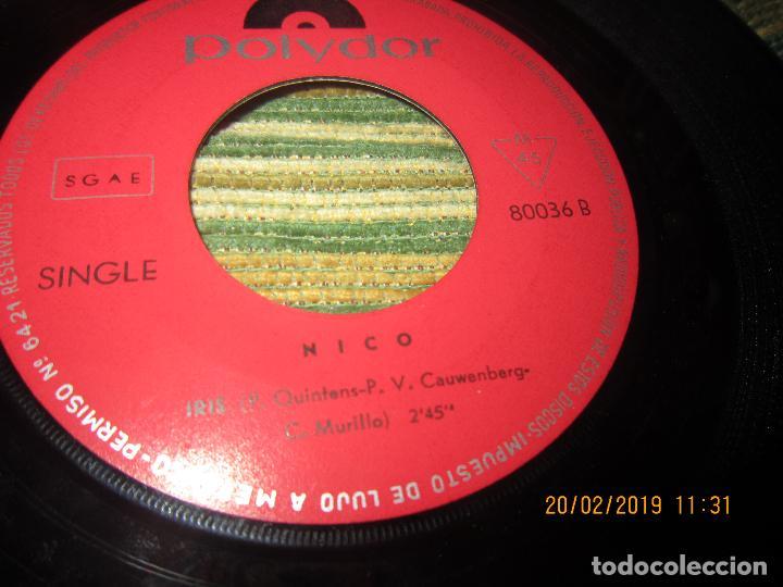 Discos de vinilo: NICO - WELLO WELLO WAP SINGLE ORIGINAL ESPAÑOL - POLYDOR RECORDS 1969 - MONOAURAL - DIFICIL Y RARO - Foto 4 - 152176214