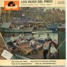Discos de vinilo: HELMUT ZACHARIAS / LOS HIJOS DEL PIREO + 3 (EP 1960). Lote 152176730