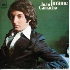 Discos de vinilo: JUAN CAMACHO / JURAME / PERDON,PERDON (SINGLE 1976). Lote 152178346