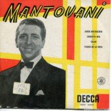 Discos de vinilo: MANTOVANI / ADIOS MUCHACHOS + 3 (EP 1959). Lote 152180206