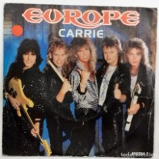Discos de vinilo: EUROPE - CARRIE / LOVE CHASER SG ED. ESPAÑOLA 1987. Lote 152187874