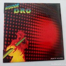 Discos de vinilo: AVIADOR DRO – AMOR INDUSTRIAL 12 MAXI SINGLE DRO 040 1983 INMACULADO - COPIA PERFECTA. Lote 152191394