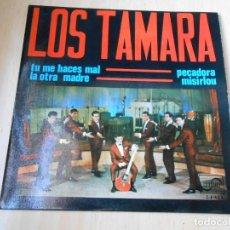 Discos de vinilo: LOS TAMARA, EP, TU ME HACES MAL + 3, AÑO 1965. Lote 152192718