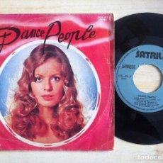 Discos de vinilo: DANCE PEOPLE - DANCE PEOPLE - SINGLE ESPAÑOL 1979 - SATRIL. Lote 152194058