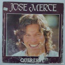 Discos de vinilo: SINGLE / JOSE MERCE / QUERERTE / ME HE ACOSTUMBRADO A TI / POLYDOR 817 781-7 / 1983. Lote 152195294