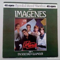 Discos de vinilo: GLAMOUR IMÁGENES 12 MAXI SINGLE EN SOLEDAD. Lote 152195534