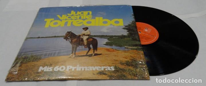 JUAN VICENTE TORREALBA - MIS 60 PRIMAVERAS LP 1978 (Música - Discos de Vinilo - EPs - Grupos y Solistas de latinoamérica)