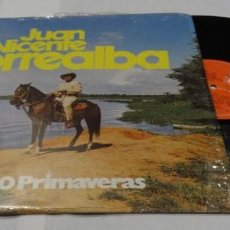 Discos de vinilo: JUAN VICENTE TORREALBA - MIS 60 PRIMAVERAS LP 1978. Lote 152196938