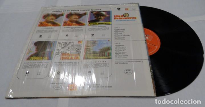 Discos de vinilo: JUAN VICENTE TORREALBA - MIS 60 PRIMAVERAS LP 1978 - Foto 2 - 152196938