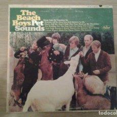 Discos de vinilo: THE BEACH BOYS - PET SOUNDS - LP CAPITOL MONO T2458 1966 BUENAS CONDICIONES. . Lote 152197610