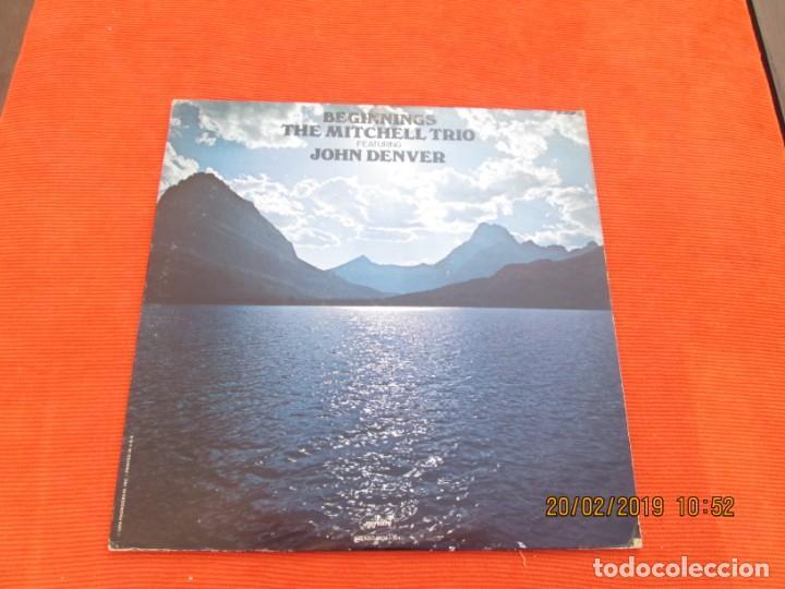 JOHN DENVER WITH THE MITCHELL TRIO ?– BEGINNINGS (Música - Discos de Vinilo - EPs - Pop - Rock Extranjero de los 70)