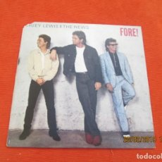Discos de vinilo - Huey Lewis And The News – Fore! - 152204574