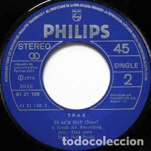 Discos de vinilo: Trax – Wasn't It Nice? / Black Boy Sello: Philips ?– 61 21 108 Formato: Vinyl, 7 , 45 RPM - Foto 2 - 152206606