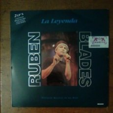 Discos de vinilo: RUBEN BLADES - LA LEYENDA, MANZANA, 1993. SPAIN.. Lote 152177113