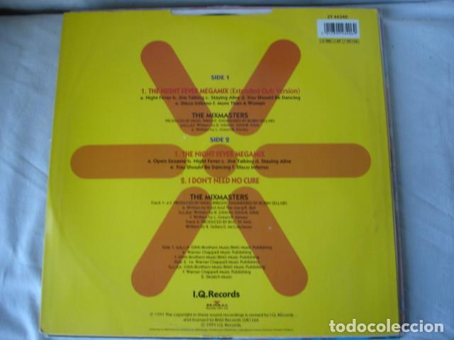 Discos de vinilo: The Mixmasters Night Fever Megamix - Foto 2 - 152207798