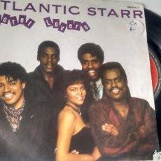 Discos de vinilo: SINGLE (VINILO) DE ATLANTIC STARR AÑOS 80. Lote 152214390