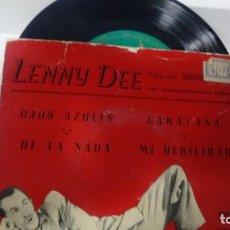 Discos de vinilo: E P ( VINILO) DE LENNY DEE AÑOS 50. Lote 152216570