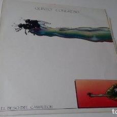Discos de vinilo: MAXISINGLE (VINILO) DE QUINTO CONGRESO AÑOS 80. Lote 152218062