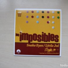 Discos de vinilo: LOS IMPOSIBLES - SNAKE EYES / LITTLE JOE - SUNNY DAY RECORDS. Lote 152243446