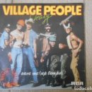 Discos de vinilo: DISCO SINGLE DE VINILO , VILLAGE PEOPLE , SLEAZY , 1980 .. Lote 152246358