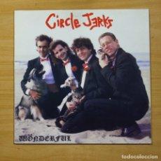 Disques de vinyle: CIRCLE JERKS - WONDERFUL - VINILO COLOR - LP. Lote 152253612