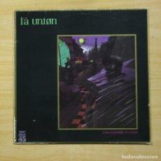 Discos de vinilo: LA UNION - LOBO HOMBRE EN PARIS - MAXI. Lote 152255836