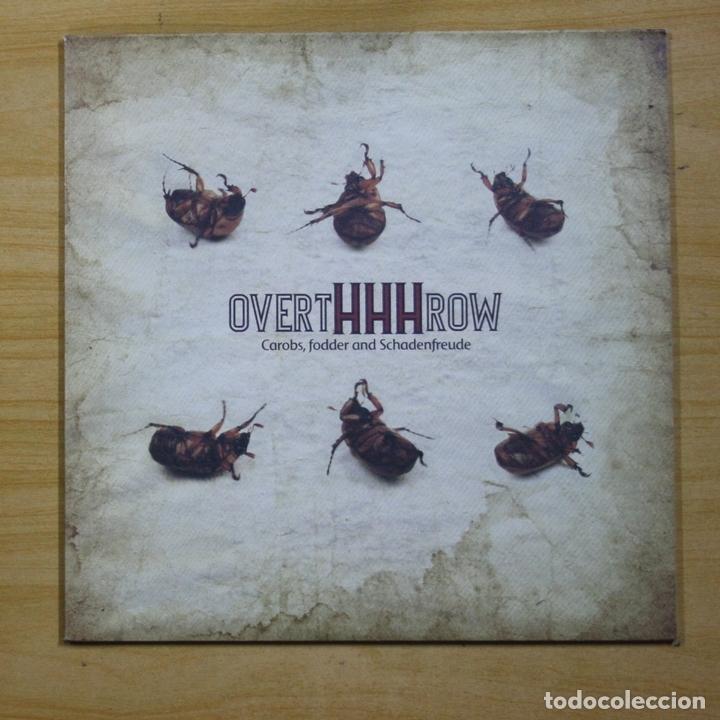 OVERTHHHROW - CAROBS, FODDER AND SCHADENFREUDE - LP (Música - Discos - LP Vinilo - Punk - Hard Core)
