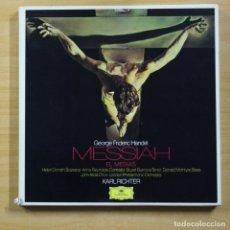 Discos de vinilo: HANDEL / KARL RICHTER - MESSIAH - INCLUYE LIBRETO - BOX 3 LP. Lote 152256928