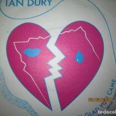 Discos de vinilo: IAN DURY - REALLY GLAD YOU COME SINGLE - ORIGINAL ESPAÑOL - POLUDOR RECORDS 1983 -. Lote 152260630