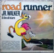 Discos de vinilo: JR. WALKER & THE ALL STARS. ROAD RUNNER. TALMA MOTOWN, GERMANY 1967 LP (STM 703) . Lote 152266806