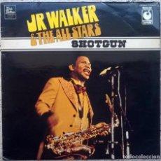 Discos de vinilo: JR. WALKER & THE ALL STARS. SHOTGUN. EMI-TALMA MOTOWN-SOUNDS SUPERB (SPR 90055) UK 1974 LP. Lote 152267770