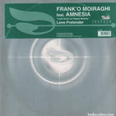 Discos de vinilo: FRANKÓ MOIRAGHI ,FEAT .AMNESIA - LEAD VOCALS BY PEPPER MASHAY - LOVE PRETENDER - MAXISINGLE RF-7411. Lote 152269206