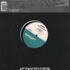 Discos de vinilo: LOOPMAN-BEAT & MORE PART 1- LP MAXISINGLE HOUSE TEMPO DE 2000 ,RF-7415. Lote 152270210