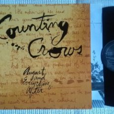 Discos de vinilo: COUNTING CROWS - '' AUGUST AND EVERYTHING AFTER '' LP + INNER 1ST PRESSING 1993 EU. Lote 152278342